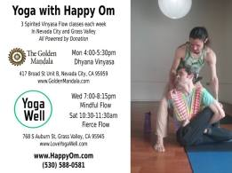 happy at yoga well