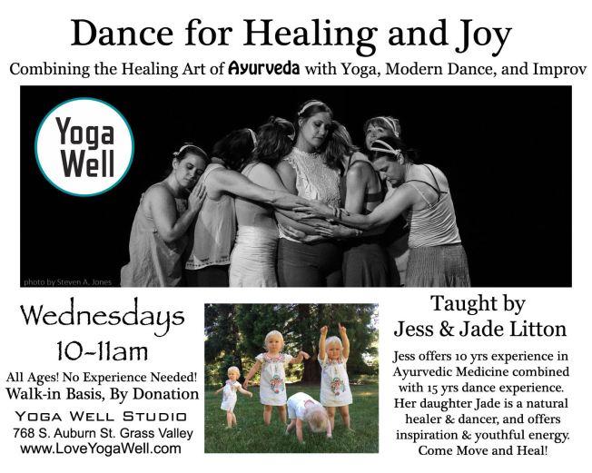 Jessicas healing dance